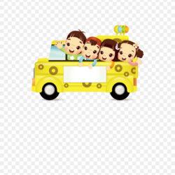 Bus Cartoon Download School Bus Student By