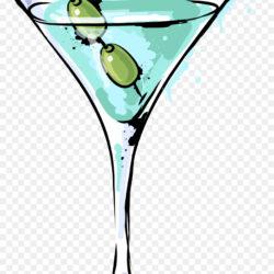 Cocktail Garnish Martini Blue Hawaii Green Fresh Drink Cocktail