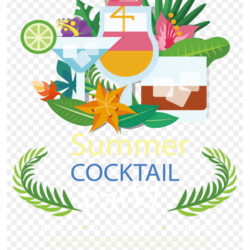 Cocktail Graphic Design Clip Art Summer Cocktail Party
