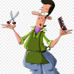 Comb Hairdresser Cartoon Barber Hairdressing
