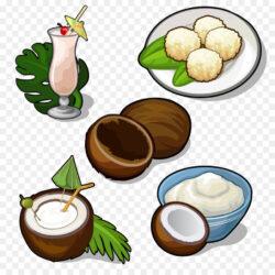 Juice Dodol Cocktail Coconut Water Coconut Milk Coconut Palm Sugar Coconut Milk