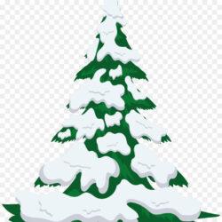 Tree Snow Clip
