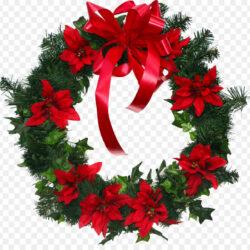Wreath Poinsettia Cut Flowers Christmas Pinecrest Elementary