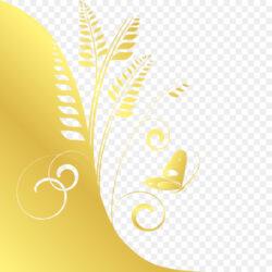 Yellow Drawing Mirror Yellow Wheat
