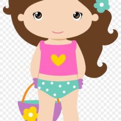 Yr Girl Beach Clipart