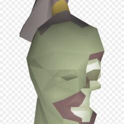 Zombie Head Detail Paper