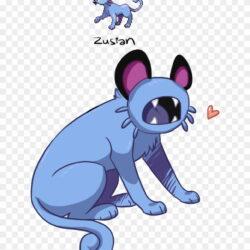 Zustan Pikachu Dog Like Mammal Mammal Cartoon Cat Small Odd Squad Pokemon