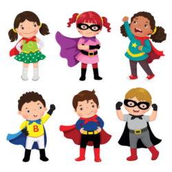 Superhero Kid Clipart Vqlsf