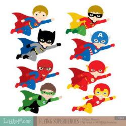 Superhero Kid Clipart Wabsj