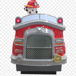 Paw Patrol Kiddie Ride Paw Patrol Marshall Fire Truck 5i0pr